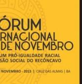 Dia da Consciência Negra será celebrado com Fórum Internacional na UFRB