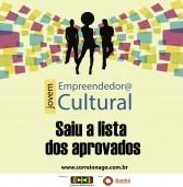 Jovens Empreendedores@ Culturais – Selecionados