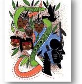 Artista plástico Alexandre Keto participa de feira internacional de Ilustração