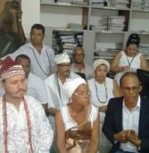 Religiosos do candomblé vão ao Ministério Público após morte de yalorixá