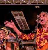 Gilberto Gil animou o arrasta-pé que deu início ao São João 2015 de Cachoeira