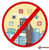Em Petrolina, é contra lei usar celular em estabelecimentos públicos