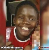 Cristian Soares Andrade, 12 anos, é morto durante ação em Manguinhos, no Rio