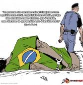 O seletivo olhar policial, reportagem do Alma Preta