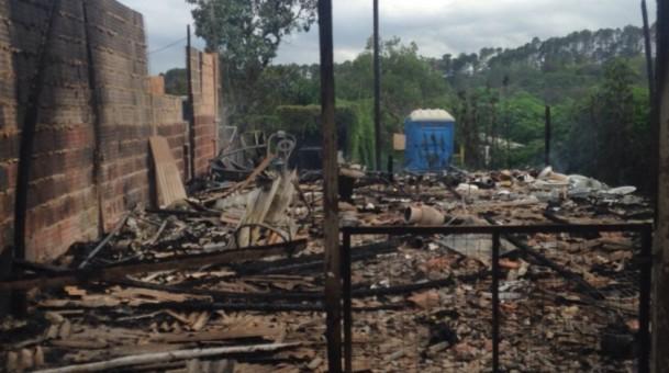 Incêndio destrói Terreiro de Candomblé, em Brasília