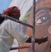 Grafiteiras baianas farão painel com 6 mil metros de paredões em Angola. Porém ainda falta o dinheiro da tinta