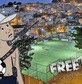 Jogar Free Fire no apartamento é a mesma coisa que jogar Free Fire na favela?