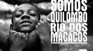Carta da Comunidade do Quilombo Rio dos Macacos
