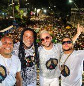 Bloco Afro Olodum realiza sua live de carnaval no último dia da folia de Momo
