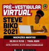 Instituto Cultural Steve Biko está com inscrições abertas para Pré-vestibular