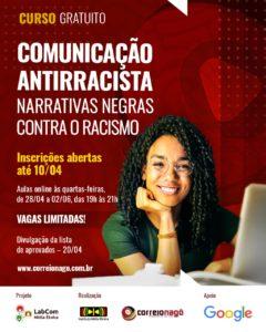 Instituto Mídia Étnica lança curso gratuito e virtual de Comunicação Antirracista