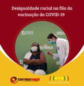 População Negra é minoria entre os vacinados contra a Covid-19 no Brasil