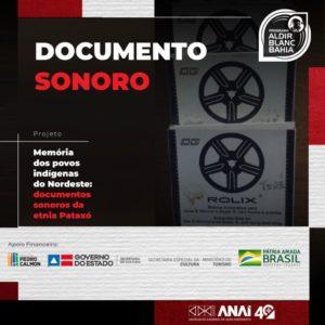 Projeto preserva memória do povo Pataxó  na Bahia