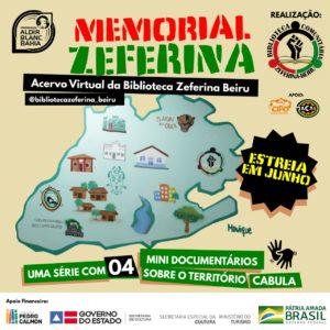Memorial Zeferina apresenta série documental sobre o território do Cabula