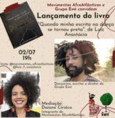 """Bailarino Luiz Anastácio lança livro """"Quando minha escrita da dança se tornou preta"""""""