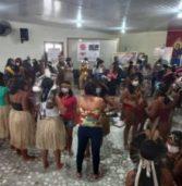 Encontro de Economia Solidária reúne mulheres indígenas