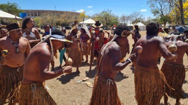 Povos indígenas mantêm mobilização em Brasília até o fim do julgamento do STF